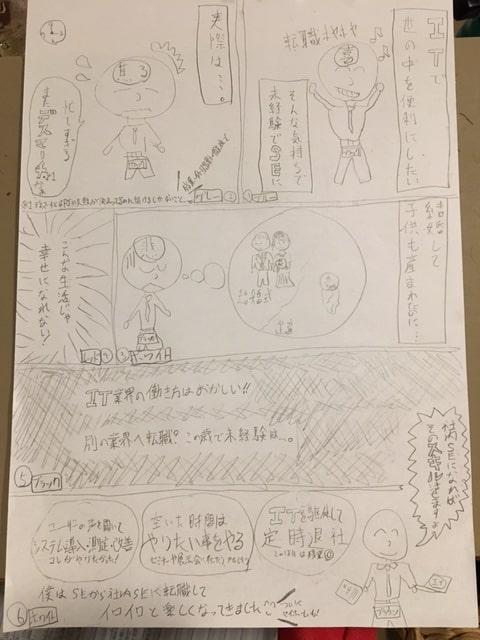 手書きラフ2