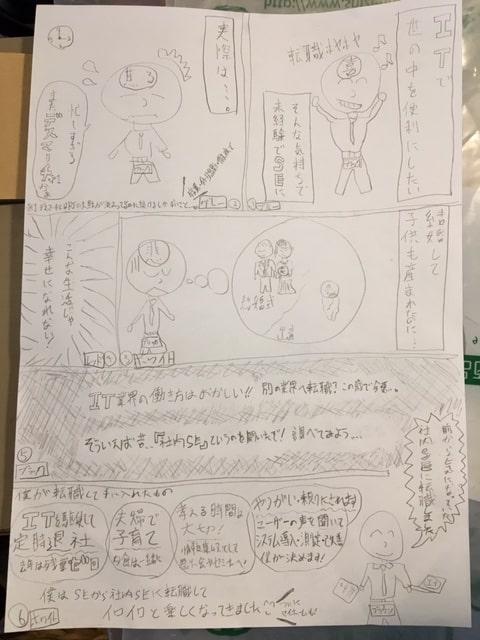 手書きラフ3